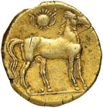 ZEUGITANIA Cartagine Tridramma (264-241 ...
