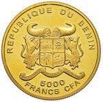 BENIN 5.000 Franchi 2002 ...
