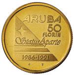 ARUBA 50 Fiorini 1991 ...