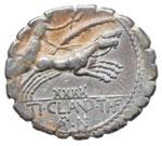 Claudia - Ti. Claudius - Denario (79 a.C.) ...