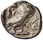 ATTICA Atene  -  Tetradramma (circa 454-415 ...
