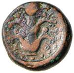 CIRENAICA Cirene AE - Testa di Apollo a d. - ...