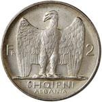 ALBANIA Zog (1925-1939) 2 Franga 1926 – ...