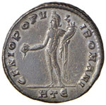 Diocleziano (284-305) Follis (Heraclea) R/ ...