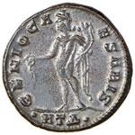 Licinio (308-324) Follis (Heraclea) Testa ...