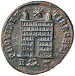 Costantino II (337-340) Follis - Busto ...