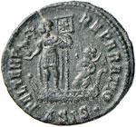 Costante (337-350) Maiorina (Siscia) Busto ...