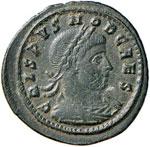 Crispo (317-326) Follis ...