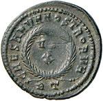 Crispo (317-326) Follis - Testa laureata a ...