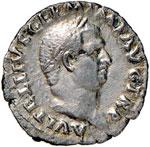 Vitellio (69) Denario - ...