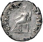 Vitellio (69) Denario - Testa laureata a d. ...