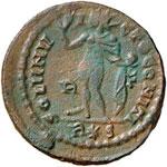 Costantino (311-337) Follis - Busto laureato ...