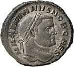 Galerio (305-310) Follis ...