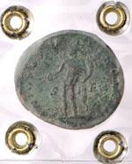 Costanzo Cloro (305-306) Follis (Treviri) R/ ...