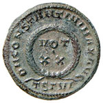 Costantino (311-337) Follis (Thessalonica) ...
