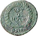 Gioviano (363-364) Maiorina (Sirmium) Busto ...