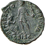 Valentiniano II (375-392) AE (Siscia) Busto ...