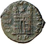 Magno Massimo (383-388) AE - Busto diademato ...
