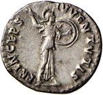 Domiziano (81-96) Denario – Testa laureata ...
