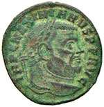 Galerio (305-311) Follis ...