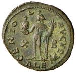 Massimino II (309-313) Follis (Alessandria) ...