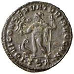 Licinio (308-324) Follis (Thessalonica) ...