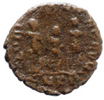 Arcadio (383-408) AE - Busto diademato a d. ...