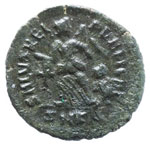 Teodosio (379-395) AE (Kizicus) Busto ...