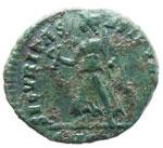 Graziano (367-383) AE - Busto diademato a d. ...