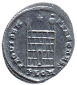 Costantino II (337-340) Follis (Londinium) ...