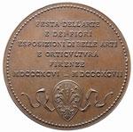 Firenze Medaglia 1896-97, Festa dell'Arte ...