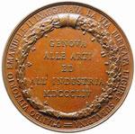 Genova Medaglia 1854, Inaugurazione strada ...