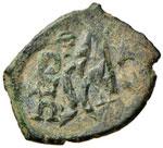 BISANZIO Eraclio (610-641) Follis (Siracusa) ...