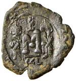 BISANZIO Costante II (641-668) Follis ...