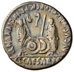 Augusto (27 a.C.-14 d.C.) Denario – Testa ...