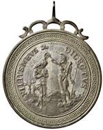 FIRENZE Medaglia con monogramma MA – AG (g ...