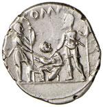 Veturia – Ti. Veturius - Denario (137 ...
