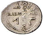 Cesare (+ 44 a.C.) Denario – Testa velata ...