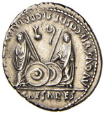 Augusto (27 a.C.-14) Denario – Testa ...