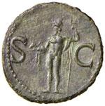 Agrippa - Asse – Testa a sinistra – R/ ...