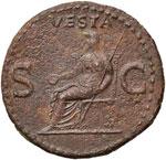 Caligola (37-41) Asse – Testa a sinistra ...