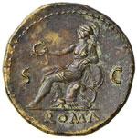 Nerone (54-68) Dupondio – Testa radiata a ...