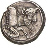 SICILIA Gela - Tetradramma (prima del ...