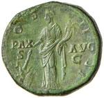 Antonino Pio (138-161) Sesterzio – Testa ...