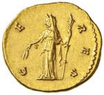 Faustina I (moglie di Antonino Pio) Aureo ...