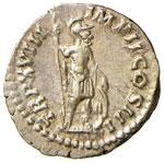 Marco Aurelio (161-180) Denario - Testa a d. ...