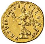 Lucio Vero (161-167) Aureo – Busto ...