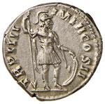 Lucio Vero (161-167) Denario - Testa ...