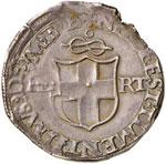 SAVOIA Carlo II (1504-1553) Testone Bourg ...