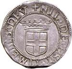 SAVOIA Carlo II (1504-1553) Testone Vercelli ...